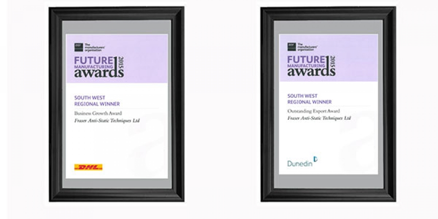 Fraser Wins Two Business Awards