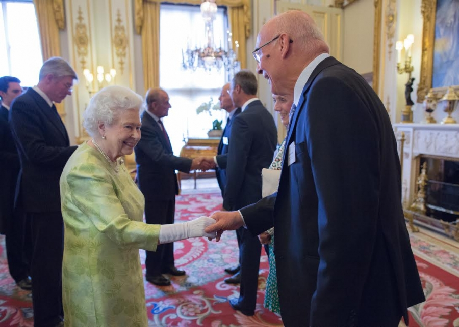 Fraser Receives Queen's Award
